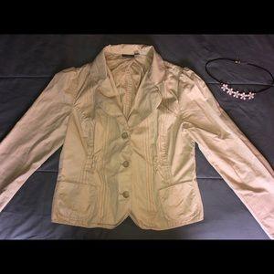 🧥 Cute APT 9 Cotton Jacket Blazer! Size 12 LARGE